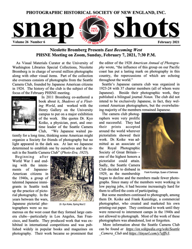 snap shots page one